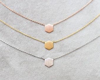 Hexagon Necklace