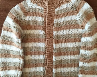 Cotton sweater for 3 years old toddler