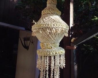 Sky Shell Jellyfish MCM Hanging Art Sculpture big Mid-Century Modern 50s 60s Beach House Mad Men