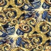 Doctor Who Exploding Tardis Licensed Cotton Fabric, Springs Creative By the Yard, Blue and Gold