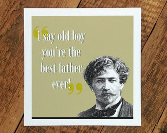 Father's Day Card; 'The Best Father Ever'; Dad Card; Card For Dads; Father Card; GC239