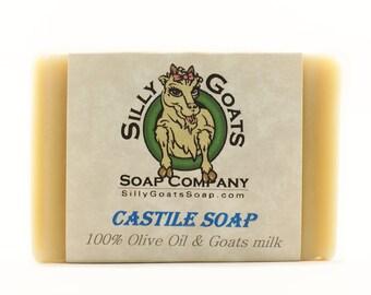 Pure Castile Soap, Olive Oil Soap, Castile Bar Soap, Castile Soap Bar