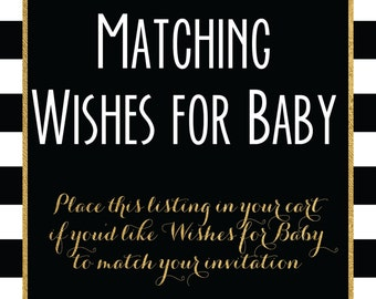 Matching Wishes for Baby