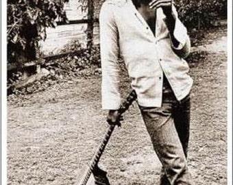 Bob Marley Standing With Guitar Jamaica 24 x 36