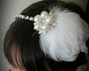 Wedding Rhinstone Headband/Bridal Headband/Wedding Accessory