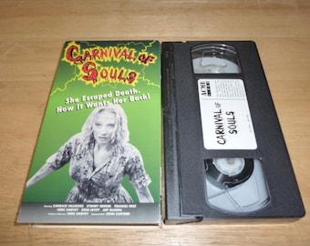 Carnival Of Souls VHS tape CULT CLASSIC horror candace hilligoss