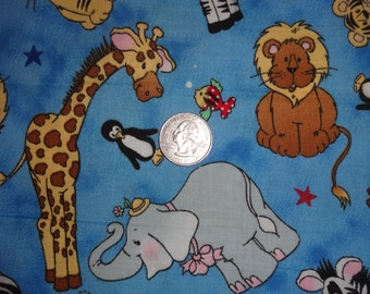 Counting two by two Cotton Quilting Fabric Patty Reed Laurie Campbell Baby Infant  1 1/2 yard