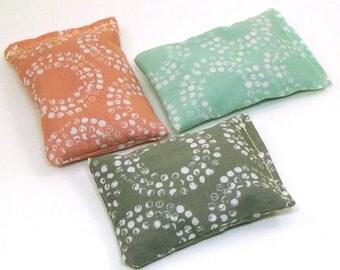 Organic Cotton Catnip Pillow set of 3