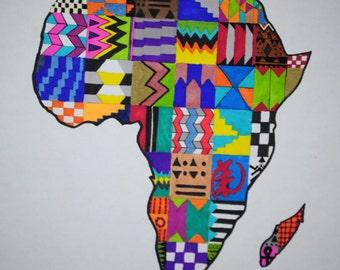 Original Patterened Africa