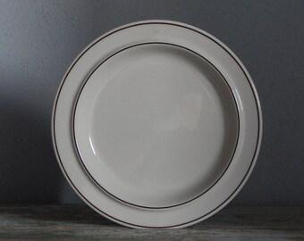 Arabia of Finland Fennica Salad/ Side Plate Stoneware 1970 s