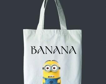 Banana tote Bag Cute
