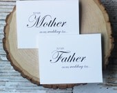 Parents Wedding Card, Mother + Father Wedding Day, To My Parents Wedding Card,  Father card, mother card,