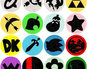 Super Smash Bros Button