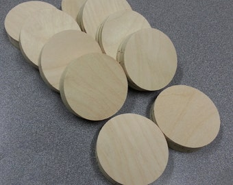 Custom Cut Circles, 4 inch diameter, 10 circles total