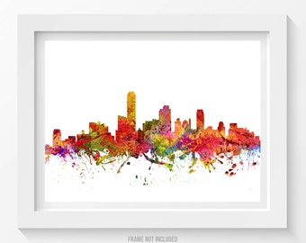 Adelaide Poster, Adelaide Skyline, Adelaide Cityscape, Adelaide Print, Adelaide Art, Adelaide Decor, Home Decor, Gift Idea 08