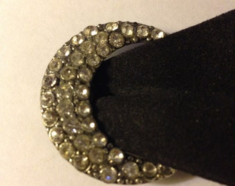 Vintage Rhinestone Shoe Buckle with 36 stones!!