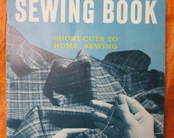 1959 BUTTERICK SEWING Book Short Cuts To Home Sewing Vintage Craft