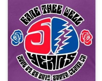 Grateful Dead Santa Clara Fare Thee Well Scoop Neck   Women's