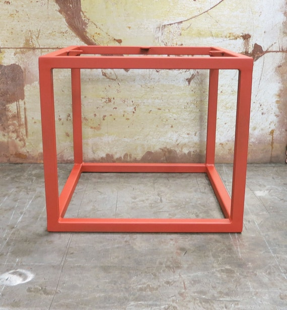 Cube metal table base - Cube table basse ...
