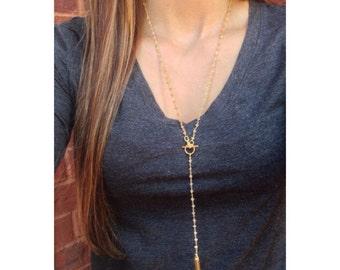 Y Necklace/ Lariat Necklace