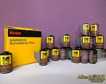 Kodak Hawkeye BW Surveillance Film 35mm film