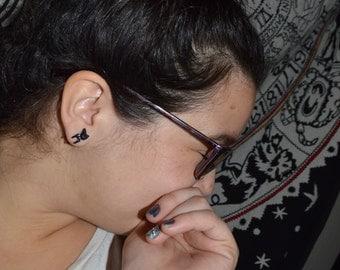 Dapper Kitty Earrings