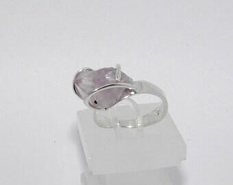Ring Silver 925, Crystal Amethyst, 1002-1