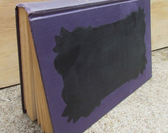 MORE Upycled Book Chalkboards