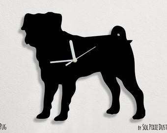 Pug Dog 1 - Wall Clock