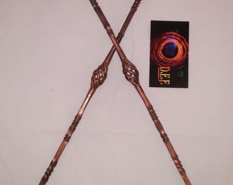 Set of Hand twisted eating torches