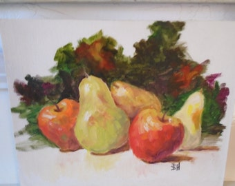 Stunning Original Painting of Fruit