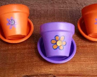Herb or Seedling Starter Pots, set of 6