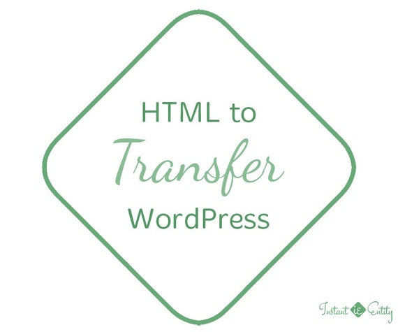 HTML to Wordpress Migration Service | Free Premium Responsive Theme Included | Move Blog or Website | HTML Transfer | Website Conversion