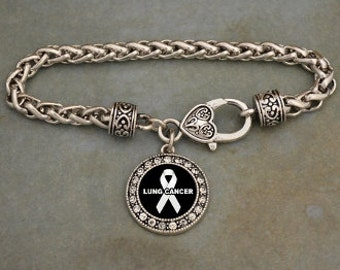 Lung Cancer Jewelry Etsy