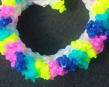Bright Colored Double Sea Coral Bracelet