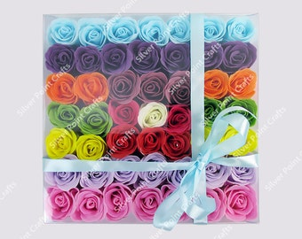 Roses Soap Bath Confetti for Pedicure & Bath *Smart Gift Idea*