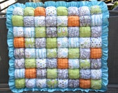 Backyard Baby Bubble Quilt  / Puff Quilt / Biscuit Quilt / Bubble Blanket
