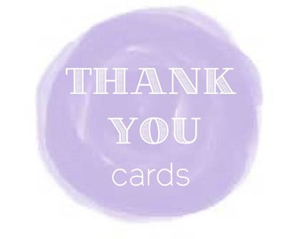 Writing Services: THANK YOU card content