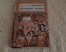John D Fitzgerald 1958 Mamma's Boarding House Hardcover Very Good Condition DJ