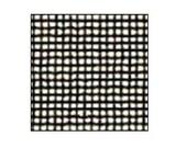 "Black 40 hpi Silk Gauze Fabric, 4"" x 6"", unmounted, miniature needlework, counted threadwork fabric, petit point, miniature needlepoint"