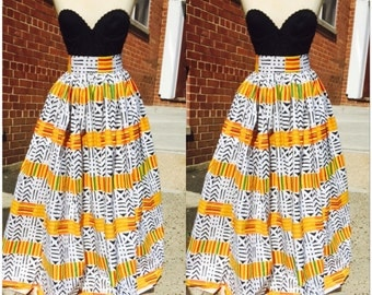 kante maxi skirt