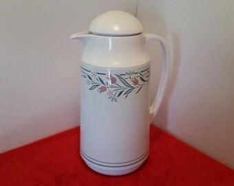 Vintage corning carafe / corelle rosemarie corning thermique