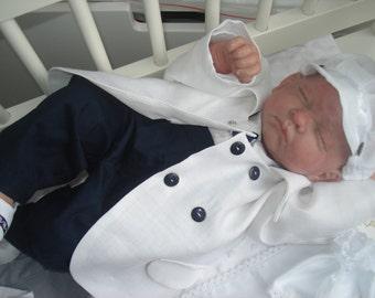 Super christening gown boy 4 months