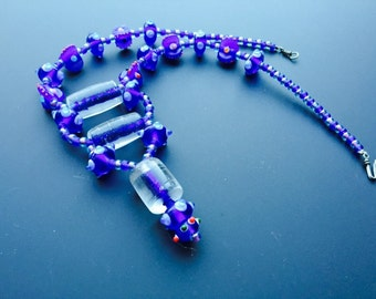 Dreams in Blue Necklace