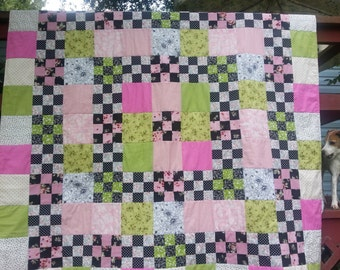 Nine patch sweet treat quilt