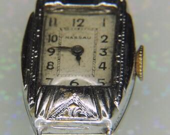 Nassau Watch Vintage C6 7Jewels