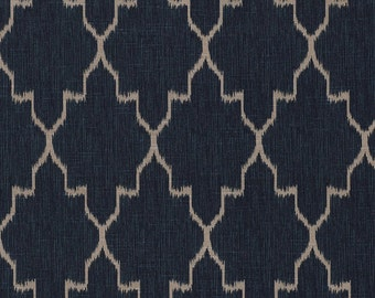 Monaco Sapphire, Fabric By The Yard, Lacefield Fabrics
