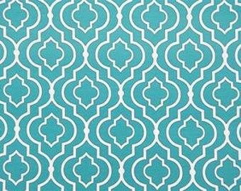 Starlet Teal, Indoor/Outdoor Fabric, By Swavelle Mill Creek Fabrics