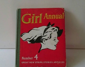 Girl Annual No. 4 from the Early Fifties