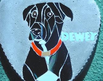 Pet stepping stone/memorial